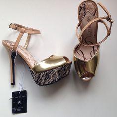 """Spotted while shopping on Poshmark: """"Beautiful Stiletto Heels""""! #poshmark #fashion #shopping #style #Sam & Libby #Shoes"""