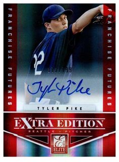 2012 Elite Extra Edition Tyler Pike Autograph /799 Seattle Mariners #SeattleMariners