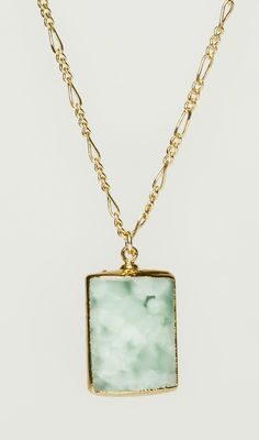 Chalcedony Pendant Necklace -- If someone bought this, I love them.