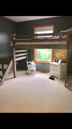 Deciding to Buy a Loft Space Bed (Bunk Beds). – Bunk Beds for Kids Safe Bunk Beds, Kids Bunk Beds, Loft Beds For Teens, Teen Loft Beds, Loft Spaces, Small Spaces, Rustic Loft, Rustic Chic, Rustic Stairs