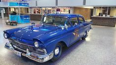 Michigan State Police 1957 Ford