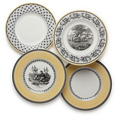 """Villeroy & Boch """"Audun"""" Assorted Salad Plates Sale - Home - Dining & Entertaining - Bloomingdale's Tea Cup Display, Buffet Plate, Breakfast Plate, Vegetable Bowl, Dinnerware Sets, China Patterns, Salad Plates, Birthday Decorations, Dinner Plates"""