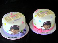 Doc Mcstuffins cakes by Cakes with L.O.V.E., via Flickr