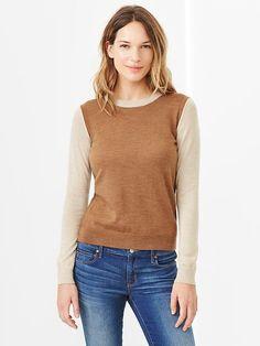 camel sweater via @gap $36