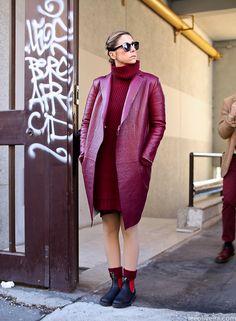 Before Marni AW12/13…Milan Fashion Week #streetstyle