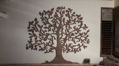 Tree design in the living room