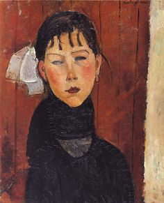mary daughter of the people // amedeo modigliani