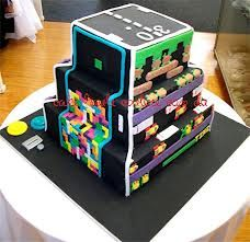 Tetris Cake Google Search Tetris Party Suggestions Pinterest - Tetris birthday cake