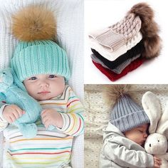Accessories Trustful Monkey Soft Baby Winter Hat Cotton Warm Kids Knit Hat Warm Ling Girls Cap Comfortable Feel Mother & Kids
