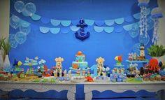 festa fundo do mar lembrancinhas - Pesquisa Google