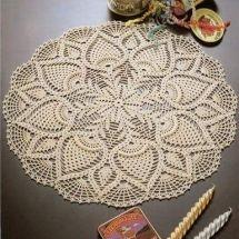Free Crochet Doily Patterns to Print Filet Crochet, Art Au Crochet, Crochet Round, Crochet Home, Thread Crochet, Irish Crochet, Crochet Crafts, Crochet Projects, Crochet Style