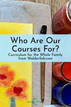 Waldorfish.com offers courses for children from seven years old and up, to offerings best suited for adults. From painting, drawing, geometry, science, form drawing, and more- check out this post to find the best course for YOU, and even try a free lesson! | waldorfish | homeschool | waldorf education | art curriculum | curriculum planning | Waldorf Curriculum, Waldorf Education, Homeschool Curriculum, Art Education, Homeschooling, Form Drawing, Curriculum Planning, Child Please, Craft Online