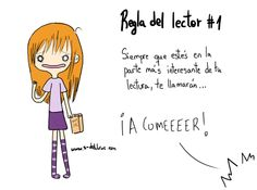 Reglas del #Lector...