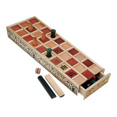 Buying Choices: WE Games Wood Senet Game - An Ancient Egyptian Board Game Old Board Games, Old Games, Game Boards, Eclipse Board Game, Wood Cone, Wooden Dice, Wooden Toys, Classic Board Games, Family Boards