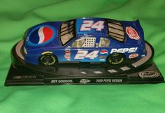 "NASCAR JEFF GORDON PEPSI 5"" DIE CAST 2000 PEPSI DESIGN COLLECTORS DISPLAY MNT #Champion #HendrickMotorsports"