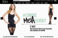 Chic e Fashion: Scala Lingerie lança e-commerce