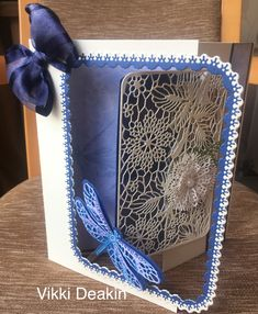Tattered Lace Cards, Shoulder Bag, Pure Products, Towers, Tulip, How To Make, Scrapbooking, Ideas, Tours