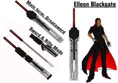 RWBY OC - Elleon Blackgate by beastking1234.deviantart.com on @DeviantArt