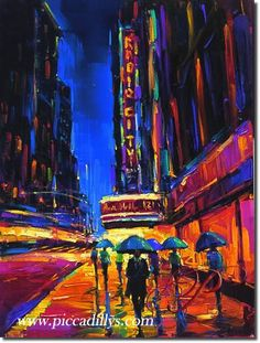Big City of Dreams By Michael Flohr New York City NYC