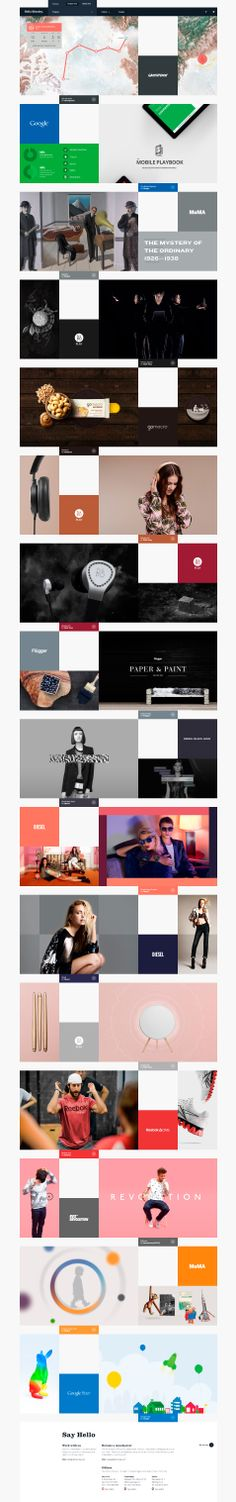 HM  #webdesign #grid #inspiration