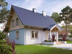 Finde landhausstil Häuser Designs von Biuro Projektów MTM Styl - domywstylu.pl. Entdecke die schönsten Bilder zur Inspiration für die Gestaltung deines Traumhauses.