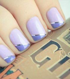 Purple, lilac & silver