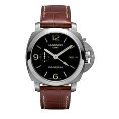 Panerai Luminor 1950 3 Days GMT Automatic Steel Men`s Watch