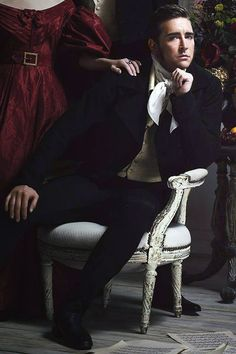 #LeePace as composer Vincenzo Bellini in a promotional photo for the Broadway play Golden Age, 2012.