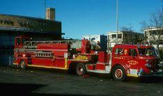 Boston MA Ladder 16 - 1970 American LaFrance TDA 100'