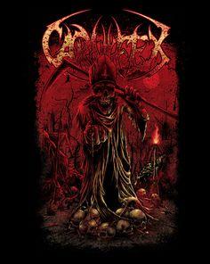 kakak lung, artwork, carnifex, the murder