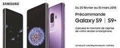 Bonne nouvelle pour tous ceux qui ne savent pas attendre ou qui sont prêt à acheter le nouveau Samsung Galaxy S9, il est désormais possible du pré commandé sur Amazon pour 499 €! Mais sous certaines conditions.  Lien d'achat : Samsung Galaxy S9. Annoncé dimanche dernier, le Samsung Galaxy... https://www.planet-sansfil.com/plan-samsung-galaxy-s9-disponible-pre-commande-amazon-499e/ 4G, android, Bluetooth, Galaxy S9, Samsung, sans fil, smartphone, Smasung, t