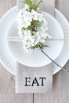 DIY place setting