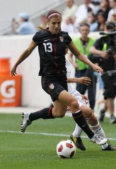 Alex Morgan      US Women's National Team (Soccer) read about her teammates at www.youworkout.out