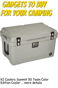 K2 Coolers Summit 50 Team Color Edition Cooler … (This is an affiliate link) #campingkitchen