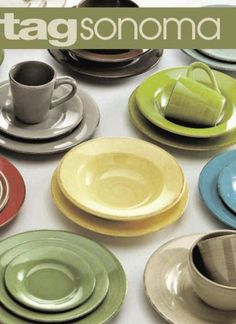 Love TAG Sonoma dinnerware. Perfect for everyday dishes. & TAG Sonoma Dinnerware | Dinnerware | Pinterest | Dinnerware