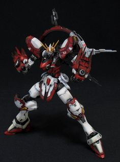 gunjap:    1/144 BURNING GUNDAM: Amazing G Gundam Remodeling Work. FULL Photoreview No.35 Big or Various Size Images & Comparison.http://www.gunjap.net/site/?p=109907