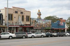 South Congress Avenue: Austin, Tx
