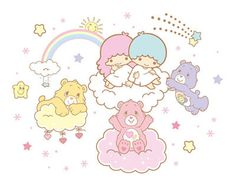 【2013】【KIKI&LALA×Care Bears】★Little Twin Stars★