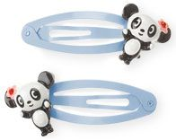 Gymboree Panda Club Hair Clips '04
