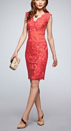 Wedding Guest Style: Coral love.