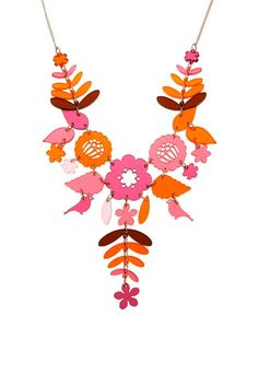 Mexican Embroidery Necklace - Autumn Berries £95 (sale £66.50) - AW14 Contemporary