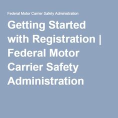 1000 images about 4 the esther maria santiago us for Who is subject to federal motor carrier safety regulations