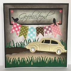 Marianne Design, Envelopes, Cowboys, Volkswagen, Birthday Cards, Chinese, Men, Cards, Bday Cards