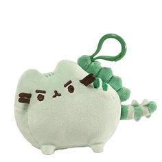 8 Gund Pusheen Cat Plush Stuffed Animal Sleep Mask Gray