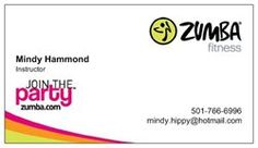 Interesting and creaive zumba business cards design for your my zumba cards reheart Choice Image
