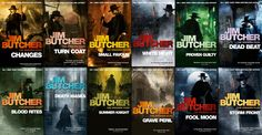 jim butcher the dresden files books