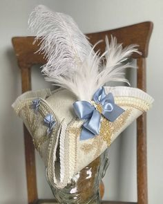 Satin Bows, Blue Satin, Ribbon Bows, Gold Lace, Pink Lace, Floral Lace, King Outfit, Ostrich Feathers, Brocade Fabric