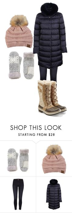 """""""Untitled #687"""" by karinasoto39 on Polyvore featuring C.C, River Island, Herno and SOREL"""