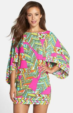 8ba4b10ff86da Trina Turk 'Tuvalu' Tunic Cover-Up available at #Nordstrom Vacation Wear,