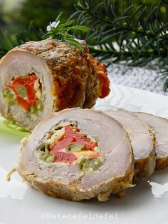 rulada de porc Jacque Pepin, Meatloaf, Sushi, Food And Drink, Cooking Recipes, Winter, Ethnic Recipes, Pork, Romanian Food